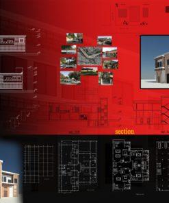 شیت های لایه باز معماری